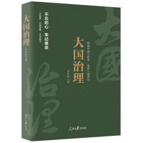大国治理/中国梦中国道路丛书