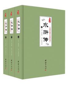 中国古典四大名著丛书:水浒传(套装共3册)