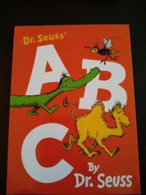 DR.SEUSS ABC BY DR.SEVSS 彩绘本