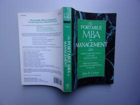 THE PORTABLE MBA IN MANAGEMENT【 英文原版书 16开本】
