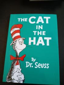 THE CAT IN THE HAT BY DR.SEVSS 彩绘本