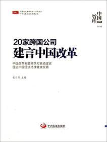 中国智库(第5辑):20家跨国公司建言中国改革