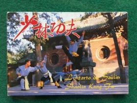 少林功夫  明信片一套10张全 1987年一版一印  有封套 10品