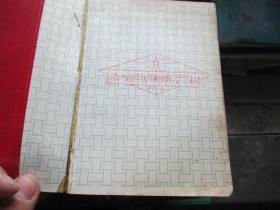 老日记本收藏:锦州市商业系统先进集体先进个人代表会纪念册