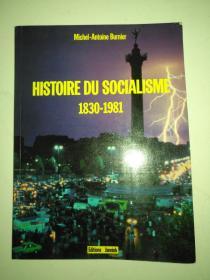 HISTOIRE DU SOCIALISME 1830-1981 830年至1981年社会主义历史 大 16 开