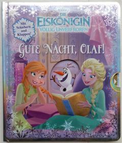 Disney Die Eiskönigin-völlig unverfroren:gute nacht , olaf!德语纸板故事书