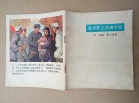 40开本彩色连环画:毛主席的故事(一)(靳之林 等绘画,人民美术出版社,1977年出版印刷)