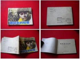 《珊瑚岛的秘密》。四川1985.6一版一印14万册,7598号,连环画