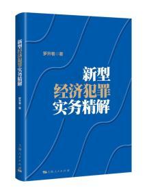 新书--新型经济犯罪实务精解
