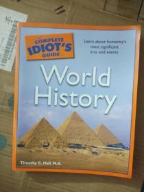英文原版COMPLETE IDIOT'S  GUIDE  TO  WORLD HISTORY