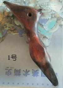 红酸枝黄金樟笔架笔搁,1-6号,其中最高价130