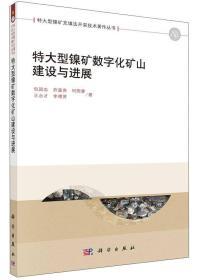 特大型镍矿充填法开采技术著作丛书:特大型镍矿数字化矿山建设与进展
