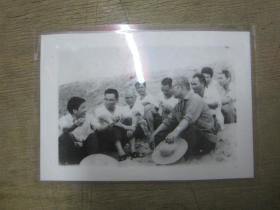 湛江堵海现场领导视察照片(约六七十年代)