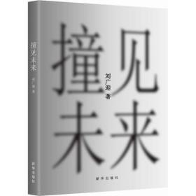 二手正版撞见未来刘广迎新华出版社9787516631195