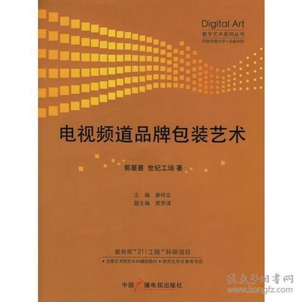 电视频道品牌包装艺术——数字艺术系列丛书