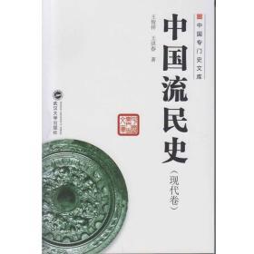 中国专门史文库:中国流民史(现代卷)武汉大学王俊祥9787307170995