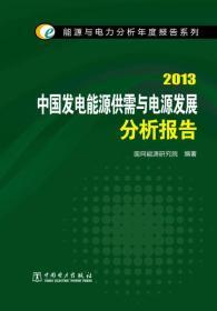 能源与电力分析年度报告系列:2013中国发电能源供需与电源发展分析报告