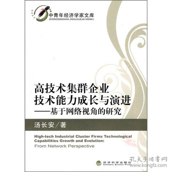 中青年经济学家文库:高技术集群企业技术能力成长与演进:基于网络视角的研究