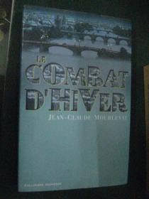 法文原版   LE COMBAT D'HIVER