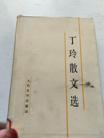 丁玲散文选  精装(32开品如图)