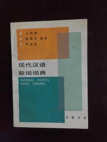 现代汉语新词词典