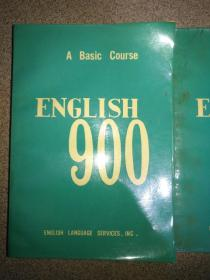ENGLISH 900 (英语900句基本课文第1--3   4--6分册合订本)