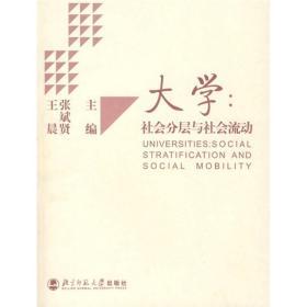 大学:社会分层与社会流动