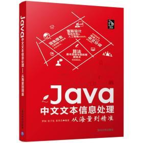 (可发货)Java中文文本信息处理:从海量到精准