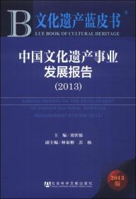 文化遗产蓝皮书:中国文化遗产事业发展报告(2013)