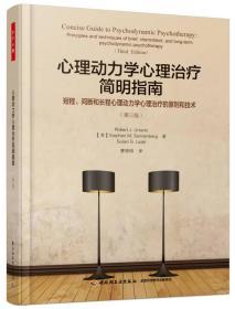 万千心理·心理动力学心理治疗简明指南:短程、间断和长程心理动力学心理治疗的原则和技术:第三版