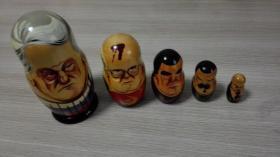 俄罗斯套娃 一套5个 苏联领导人