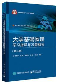 大学基础物理学习指导与习题解析(第2版)