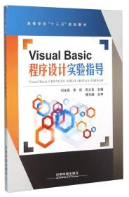 Visual Basic程序设计实验指导