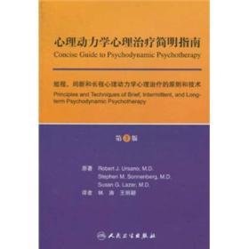 心理动力学心理治疗简明指南:短程、间断和长程心理动力学心理治疗的原则和技术