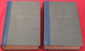 1924年限量签名本 《奥尼尔全集》2卷全,奥尼尔签名,限量1200套