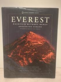 珠穆朗玛峰 大型图文画册 Everest : Mountain Without Mercy ( 自然地理 ) 英文原版书