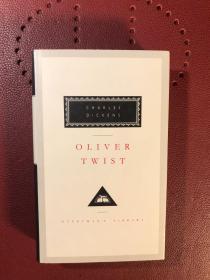 Oliver Twist-Charles Dickens (雾都孤儿-查尔斯·狄更斯,布面精装 Everyman's Library 1992出版).