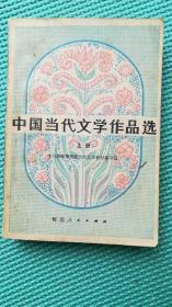 中国当代文学作品选  上册