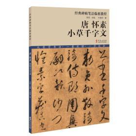 经典碑帖笔法临析教程:唐 怀素 小草千字文(洪亮主编)