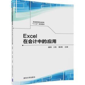 """【非二手 按此标题为准】Excel在会计中的应用(普通高等职业教育""""十三五""""规划教材)"""