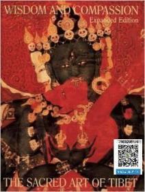 【包邮】智慧与慈悲 Wisdom and Compassion:The Sacred Art of Tibet,1991年出版