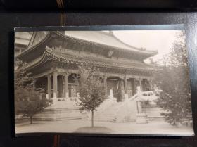 民国北京园林建筑老照片一张
