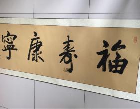 谢模乾书法福寿康宁