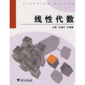 线性代数 王炳兴王海敏 浙江大学出版社 9787308061506