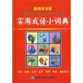 二手正版新编多功能实用成语小词典9787560131917