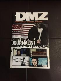 英文版漫画  DMZ Vol. 2: body of a journalist