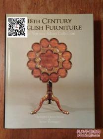 《Norman Adams收藏18世纪英国家具》1983年出版 16开