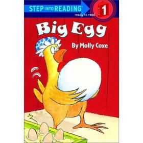 Big Egg进阶式阅读丛书1: 大鸡蛋 英文原版