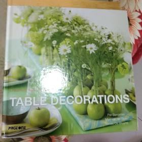 TABLE,DECORATIONS
