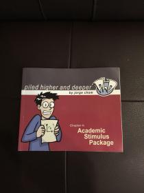 英文版漫画  Academic Stimulus Package